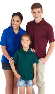 KP200 - KIDS OXFORD POLO