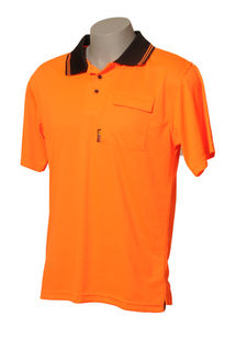 HI VIS DAY ONLY POLO SHORT SLEEVE