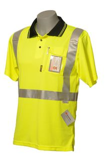 HI VIS DAY/NIGHT POLO SHORT SLEEVE