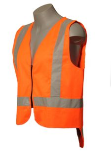 HI VIS - BUDGET DAY/NIGHT ZIP VEST