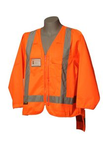 HI VIS DAY/NIGHT DUAL ZIP LONG SLEEVE VEST