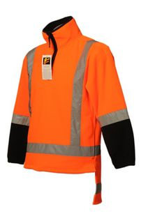 Hi Vis Polar Fleece Tunic - Tailed